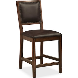 Newcastle Counter-Height Chair - Mahogany