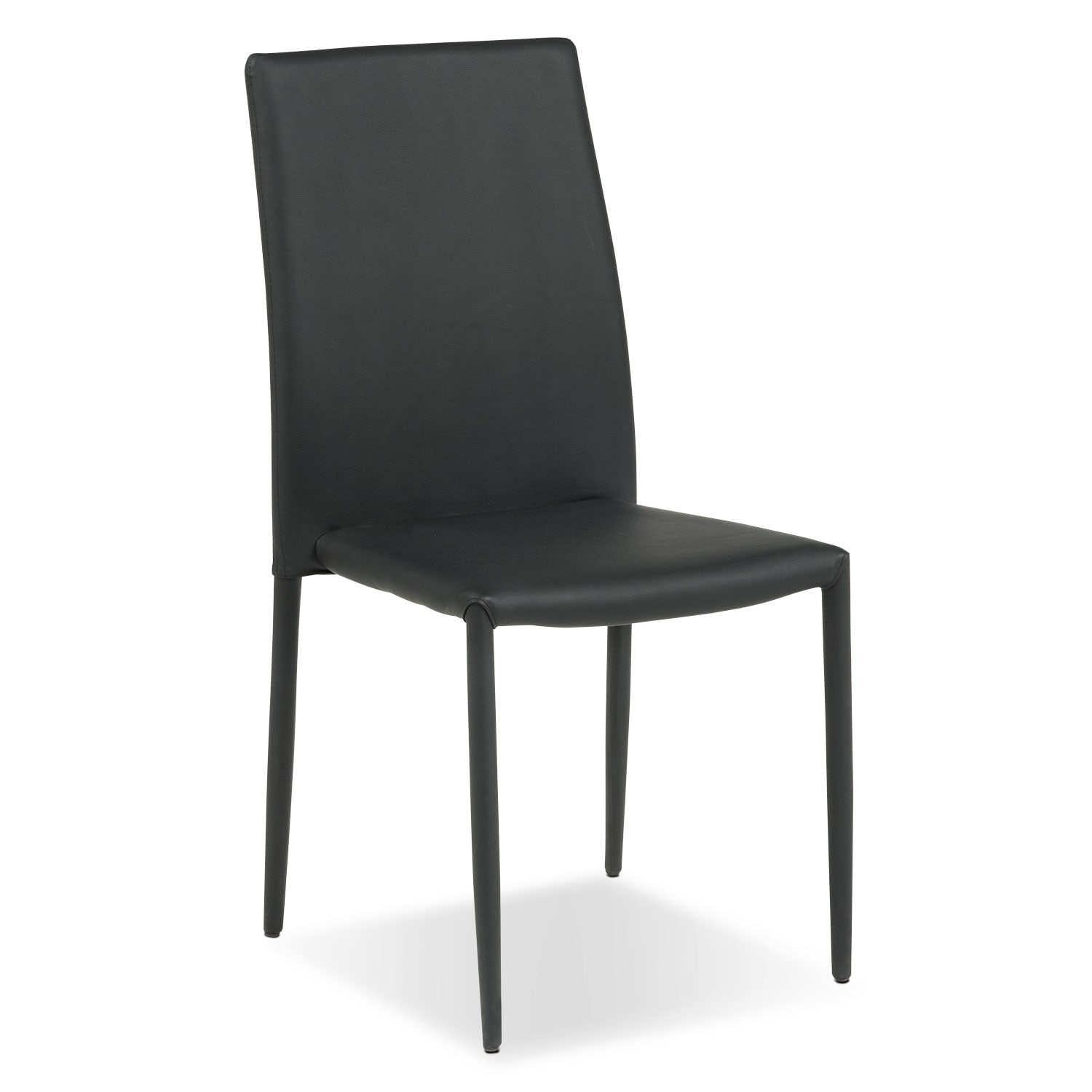 Dining Room Furniture - Quattro Side Chair - Black
