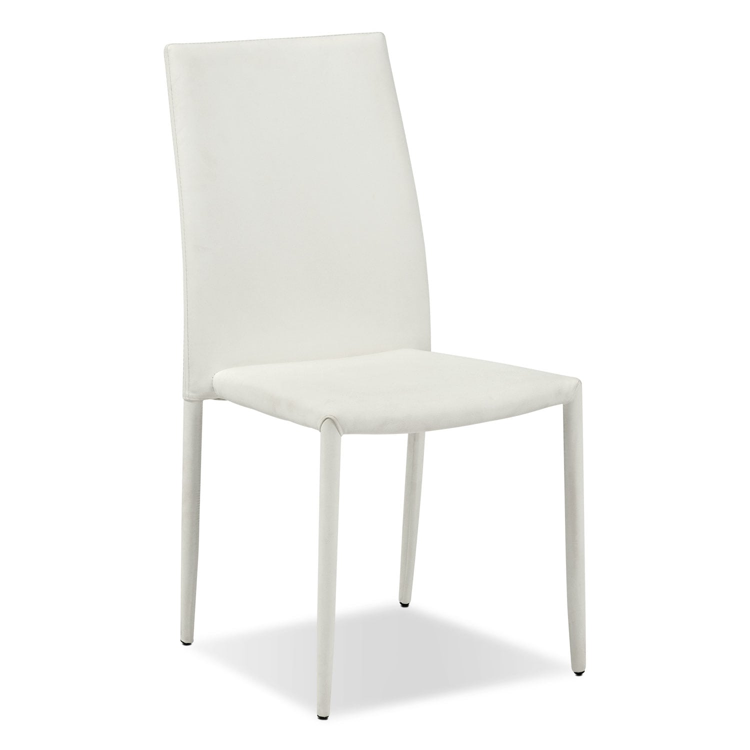 Dining Room Furniture - Quattro Side Chair - White