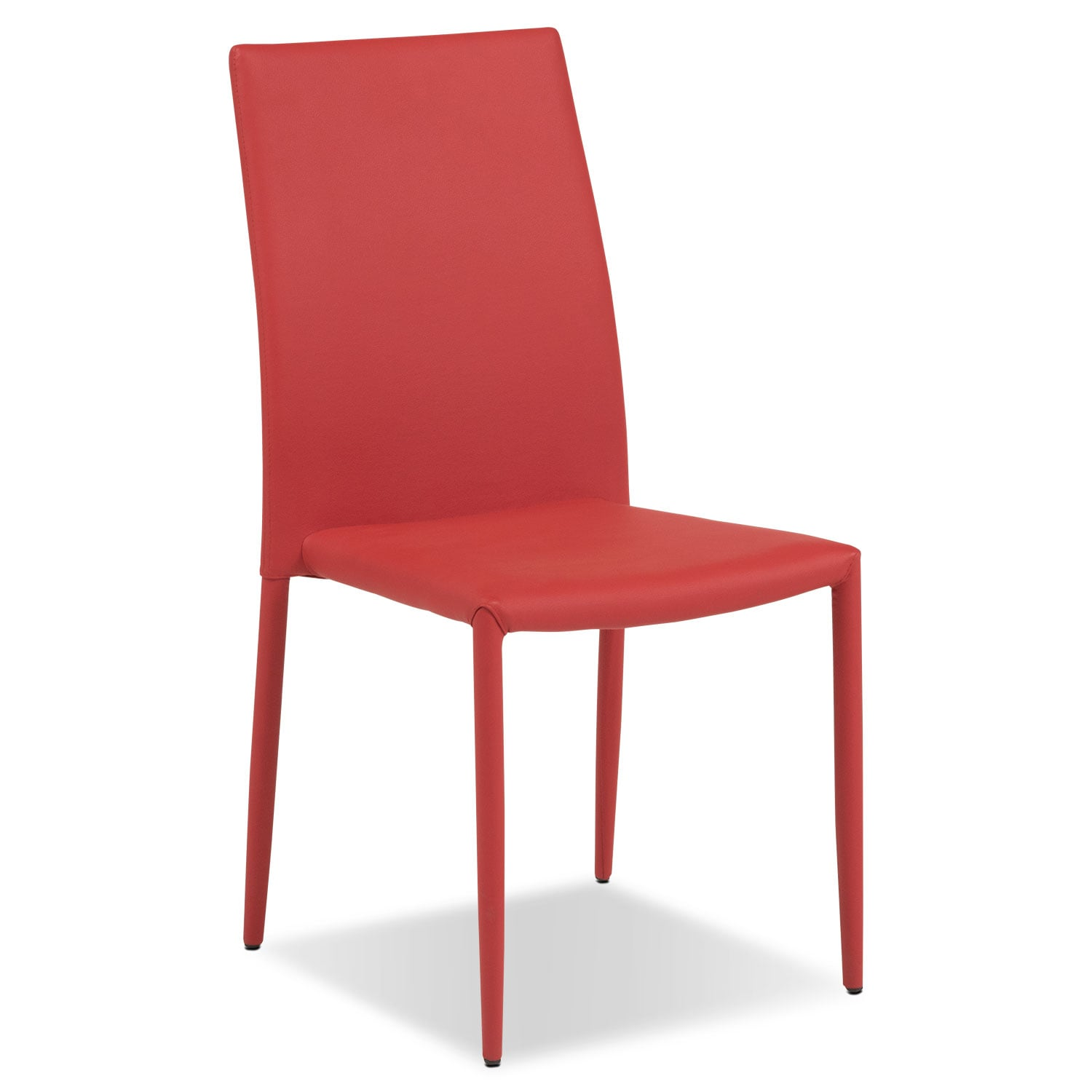 Quattro Side Chair - Red