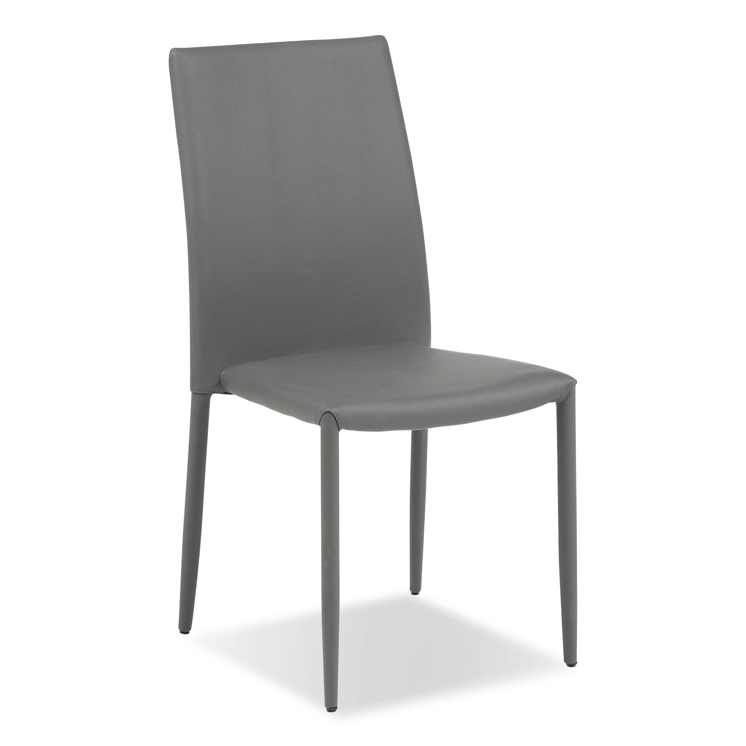 Dining Room Furniture - Quattro Side Chair - Gray