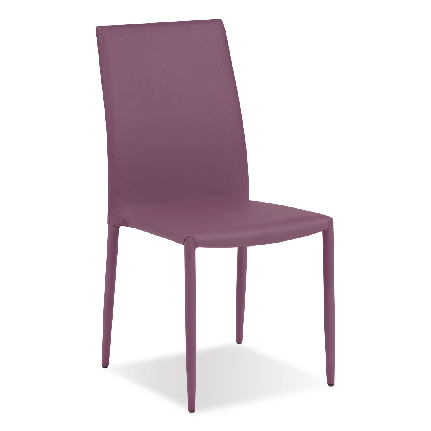 Dining Room Furniture - Quattro Side Chair - Purple