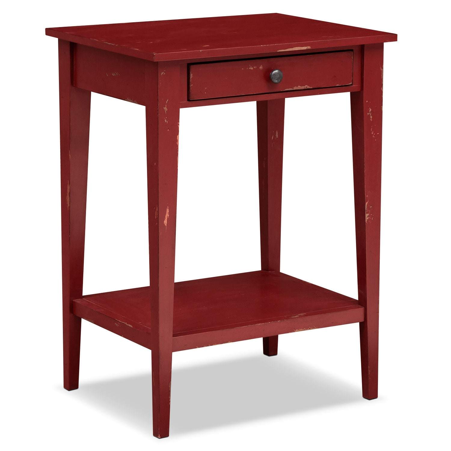 Bedroom Furniture - Anthony End Table - Red
