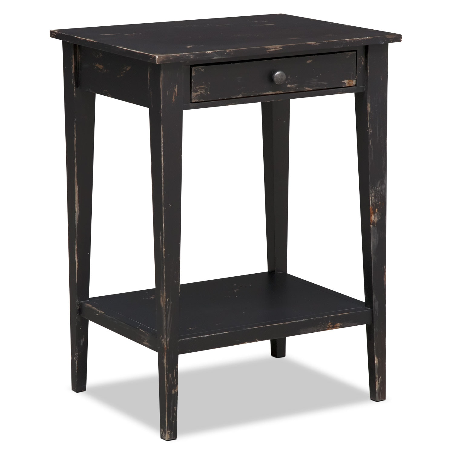 Bedroom Furniture - Anthony End Table - Black