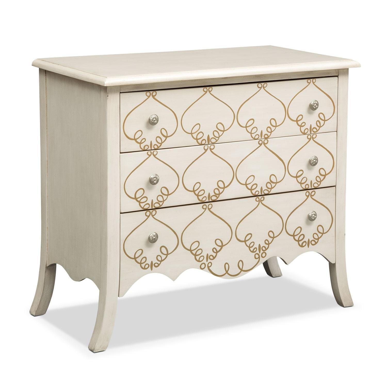 Bedroom Furniture - Miranda Chest - White