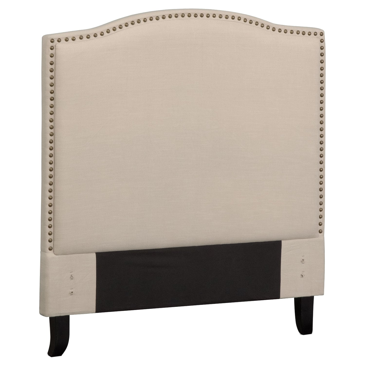 Aubrey Twin Upholstered Headboard - Sand