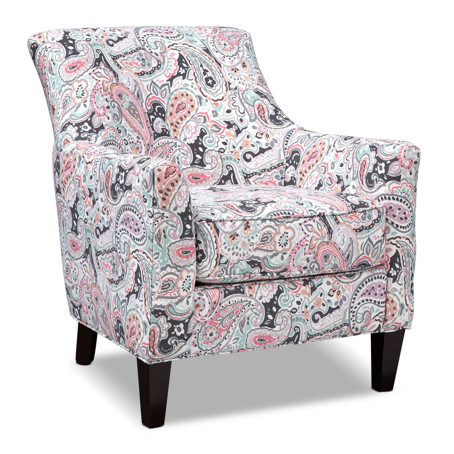 Bedroom Furniture - Rachel Esparanza Accent Chair - Granite