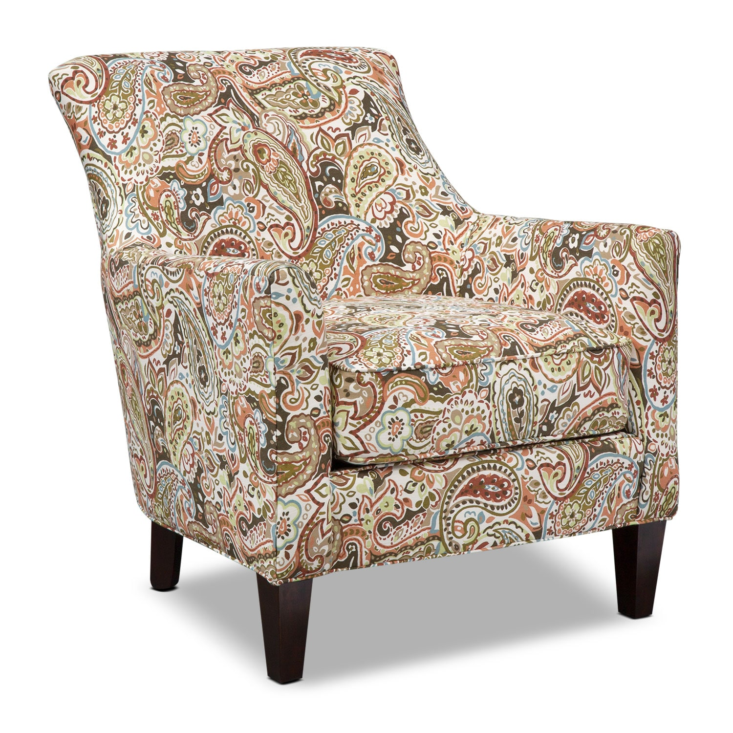 [Rachel Esparanza Accent Chair - Sage]