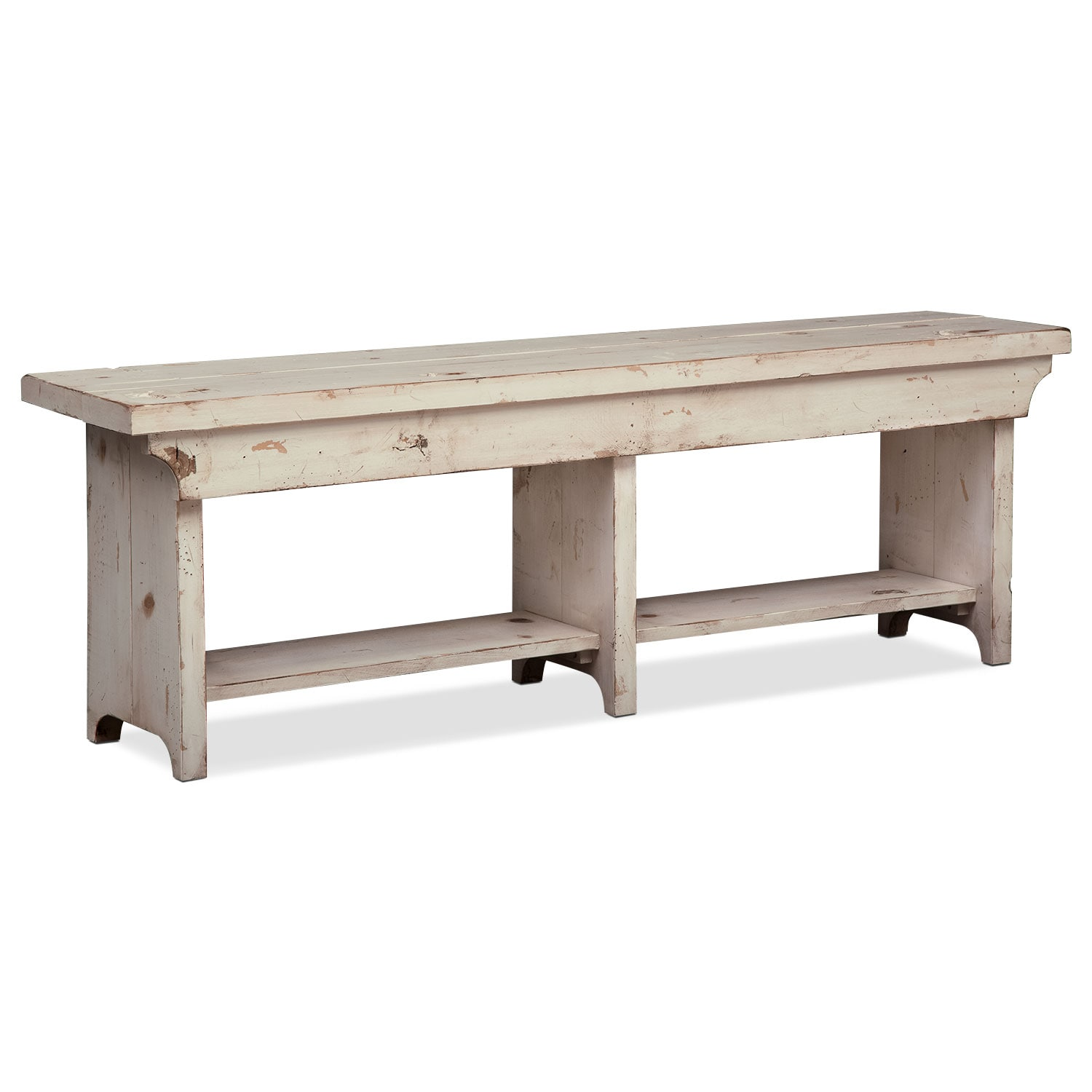 Bedroom Furniture - Roger Bench - White