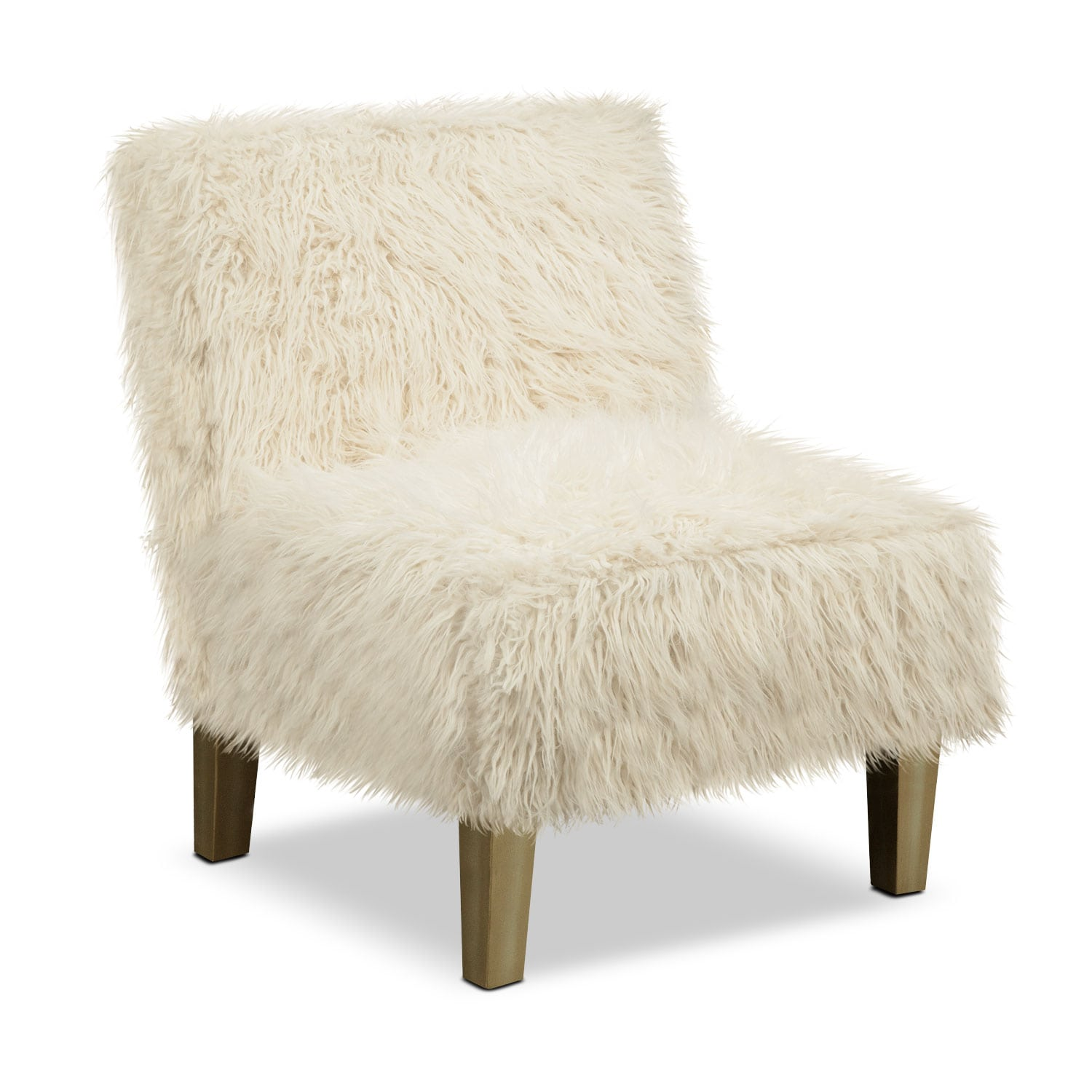 Westie Accent Chair - White