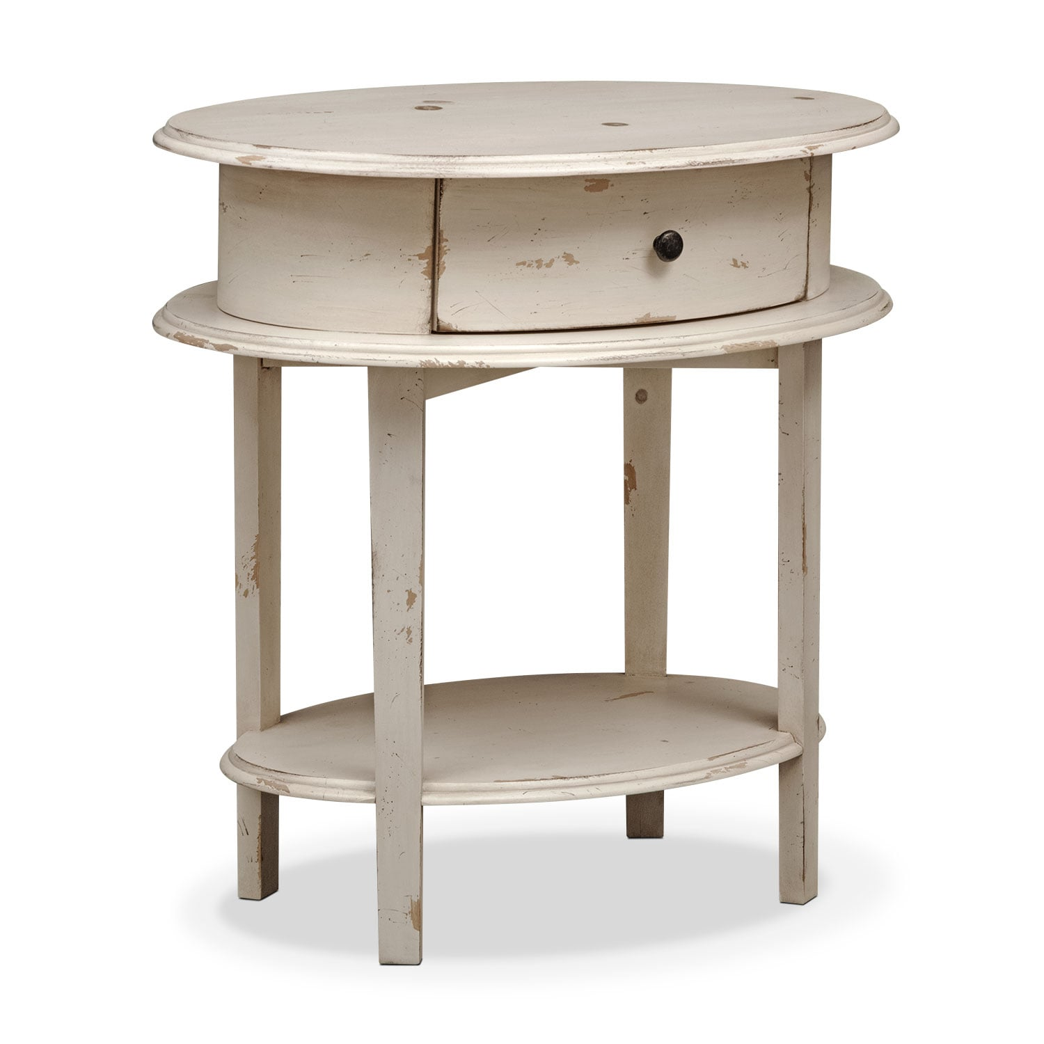 Cole End Table - White