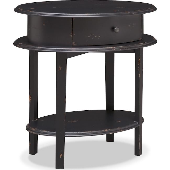 Accent and Occasional Furniture - Cole End Table - Black