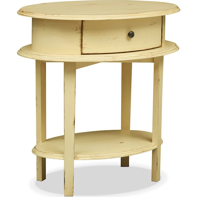 Accent and Occasional Furniture - Cole End Table - Yellow