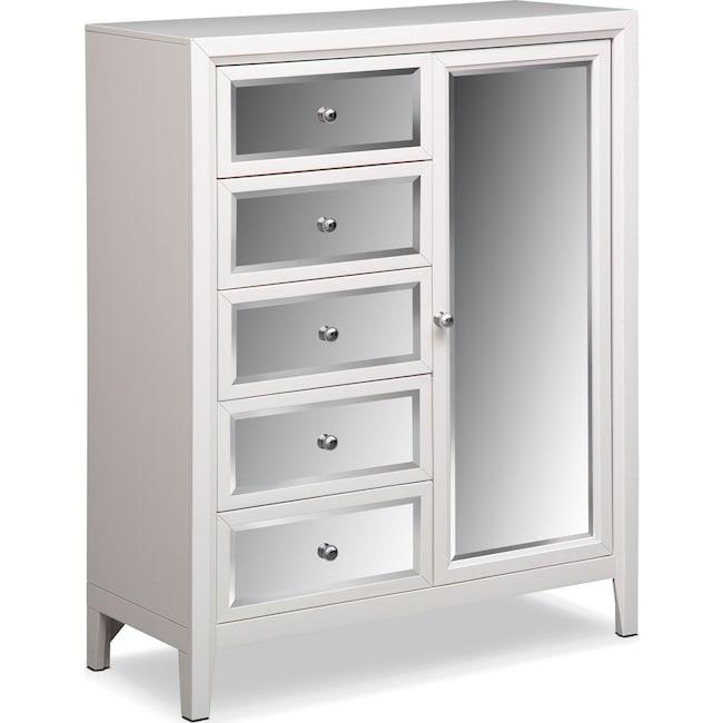 Bedroom Furniture - Bonita Chest - White