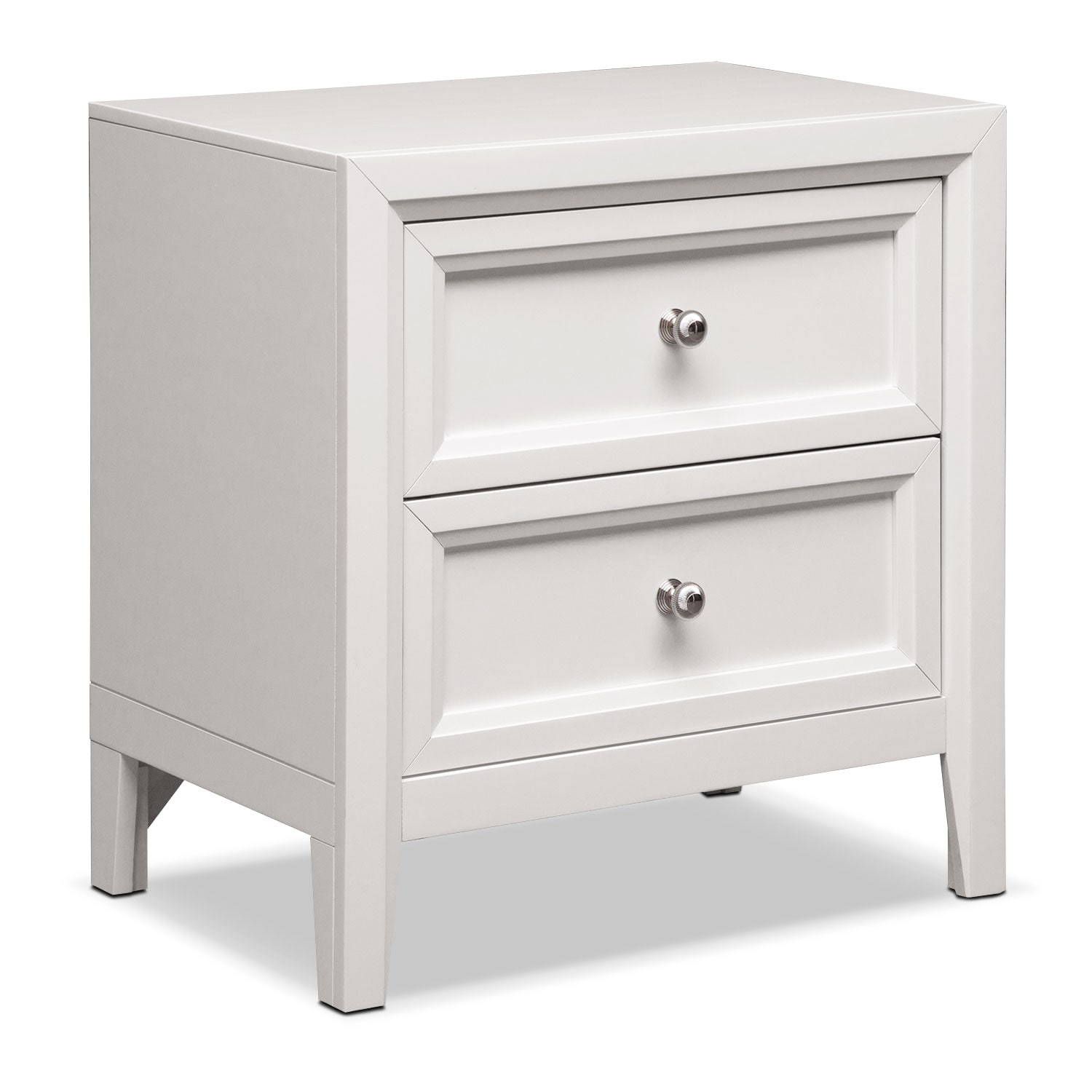 Bonita Nightstand White