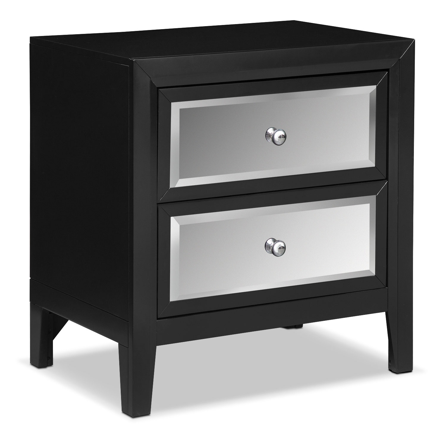 #525157 Bonita Nightstand Black Value City Furniture with 1500x1500 px of Most Effective Black Nightstand And Dresser 15001500 wallpaper @ avoidforclosure.info