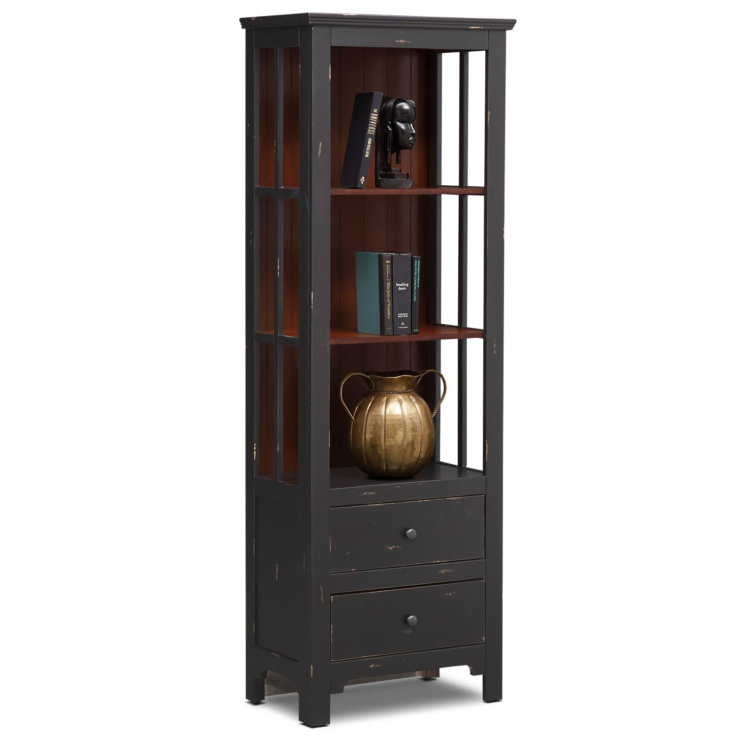 [Keefe Bookcase - Black]