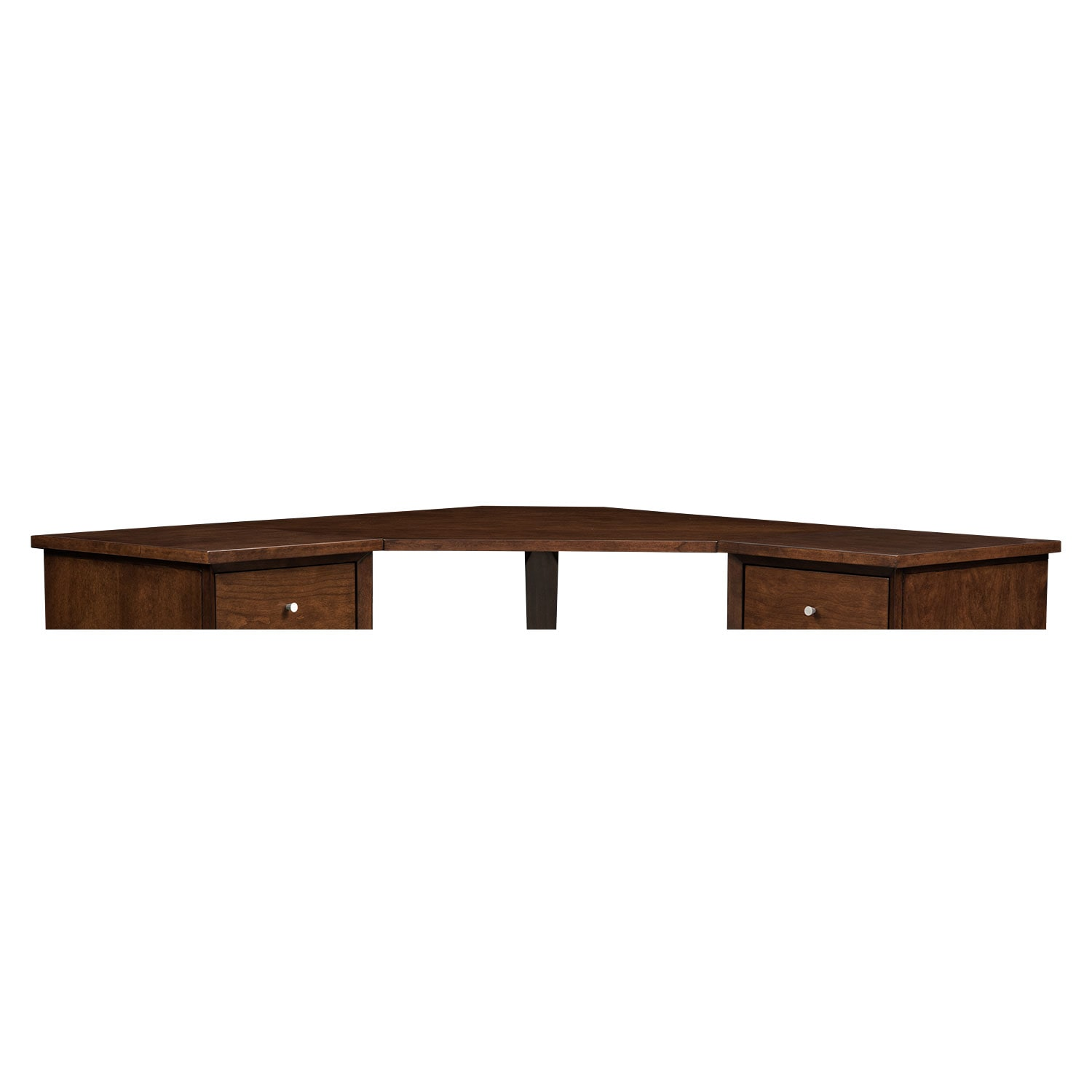 Oslo Cherry Corner Desk Top