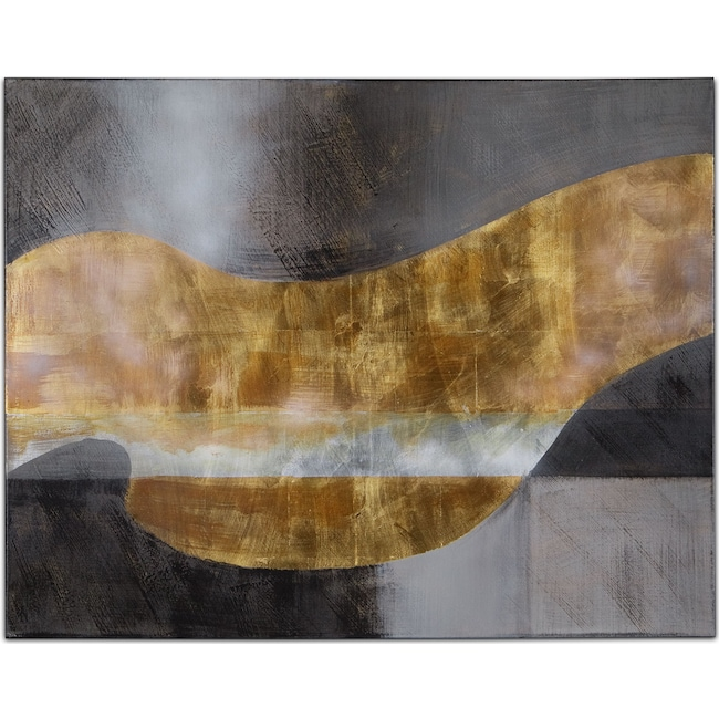 Home Accessories - Golden Waves No. 2 Canvas Print