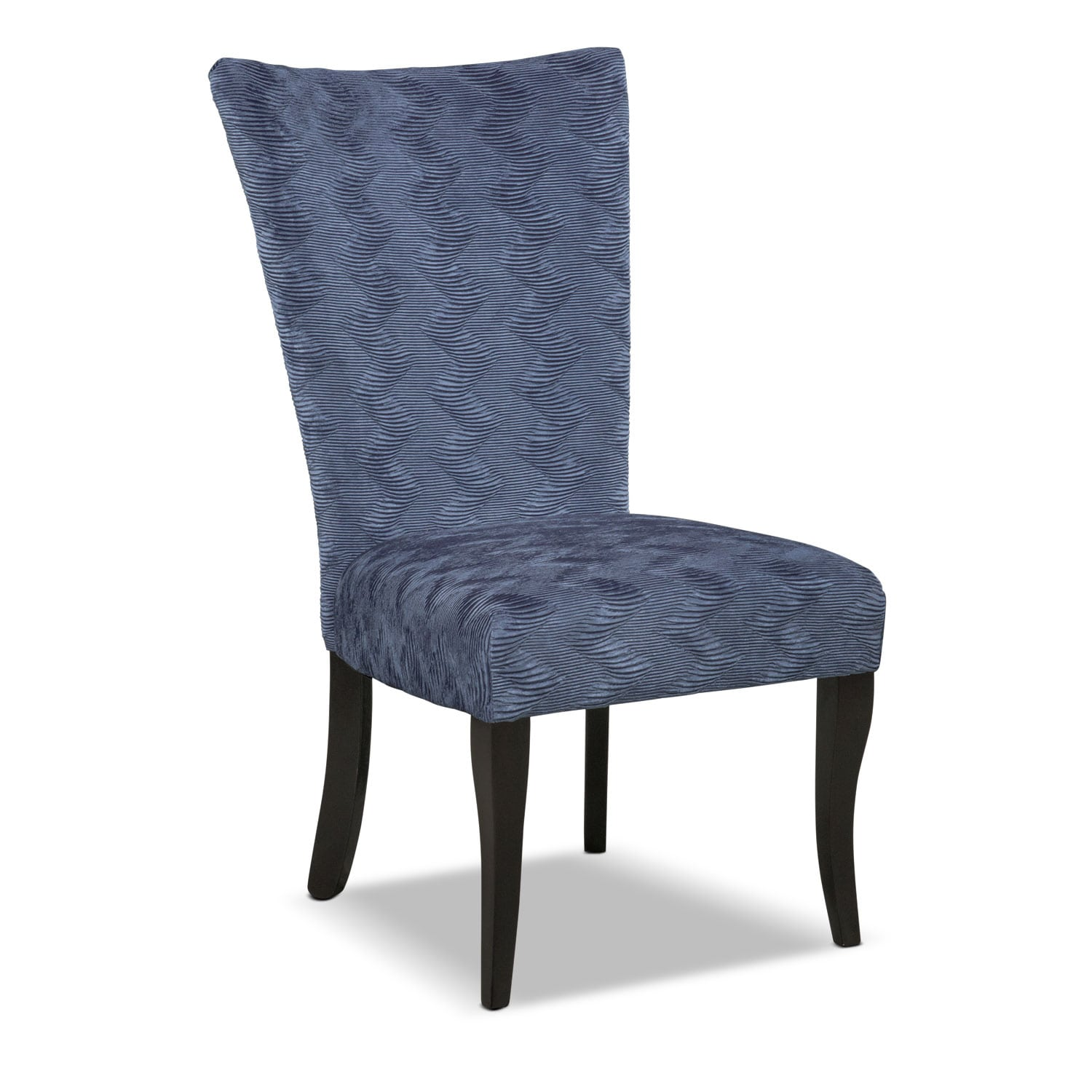 Dining Room Furniture - Vibrato Side Chair - Blue