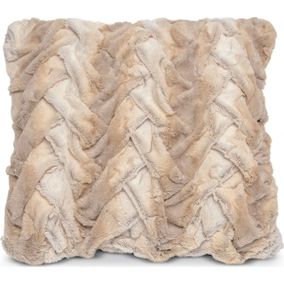 Hampton Faux Fur Decorative Pillow