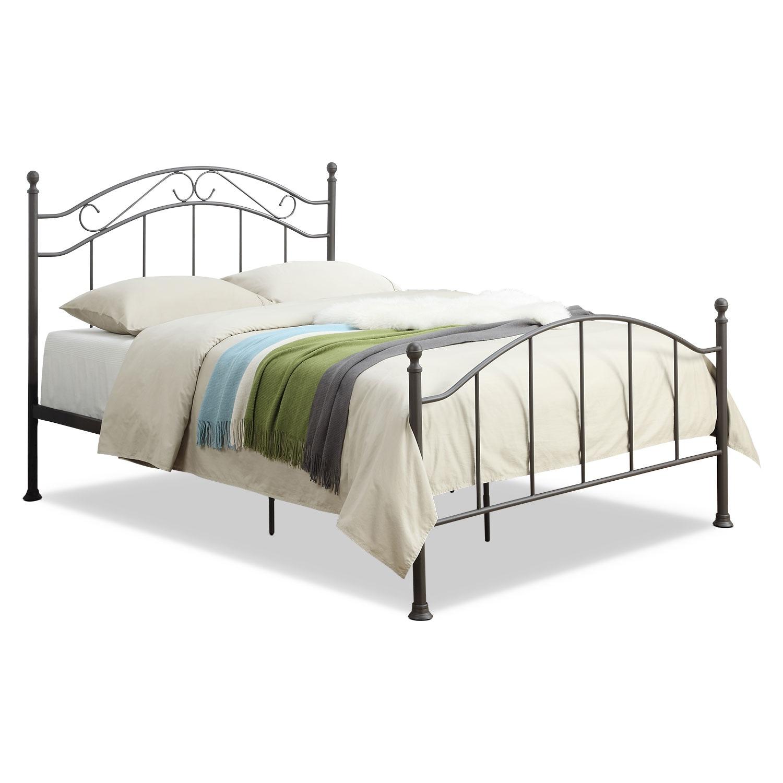 Bedroom Furniture - Deena Queen Metal Bed