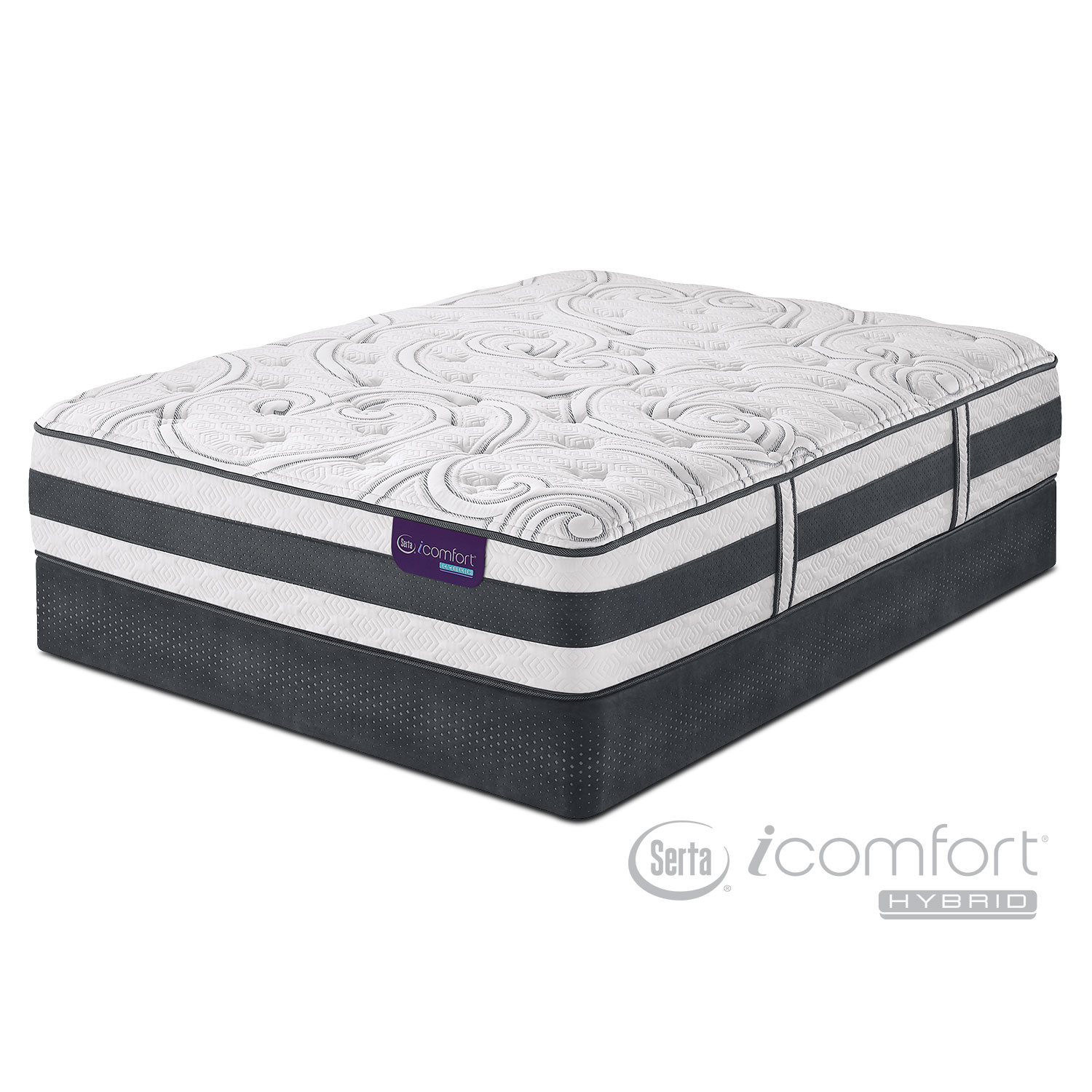 Mattresses and Bedding - Recognition Full Mattress/Low-Profile Foundation Set