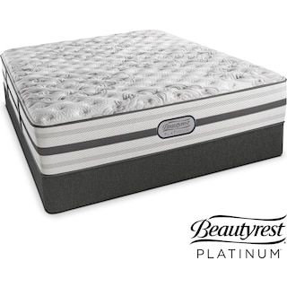 Helena Extra-Firm Twin Mattress and Low-Profile Foundation Set