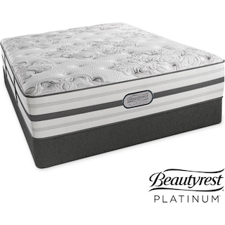 Alexandria Luxury Firm Twin Mattress and Low-Profile Foundation Set