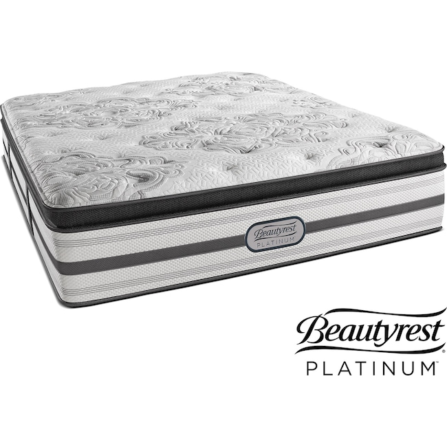 Mattresses and Bedding - Genevieve Plush Pillowtop California King Mattress
