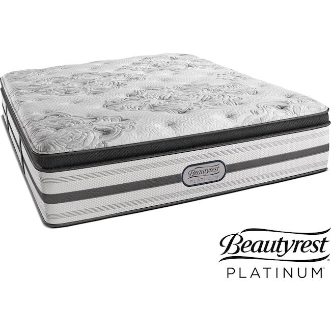 Mattresses and Bedding - Genevieve Plush Pillowtop Twin XL Mattress