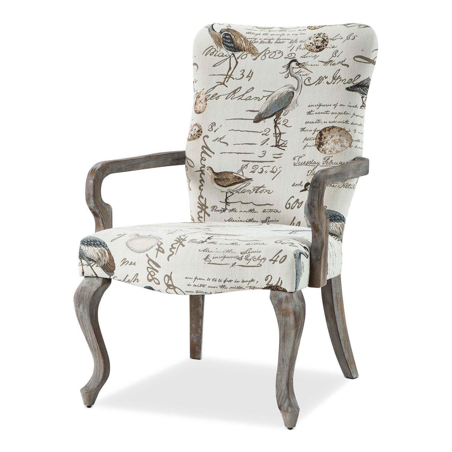 Accent and Occasional Furniture - Camden Accent Chair - Cream