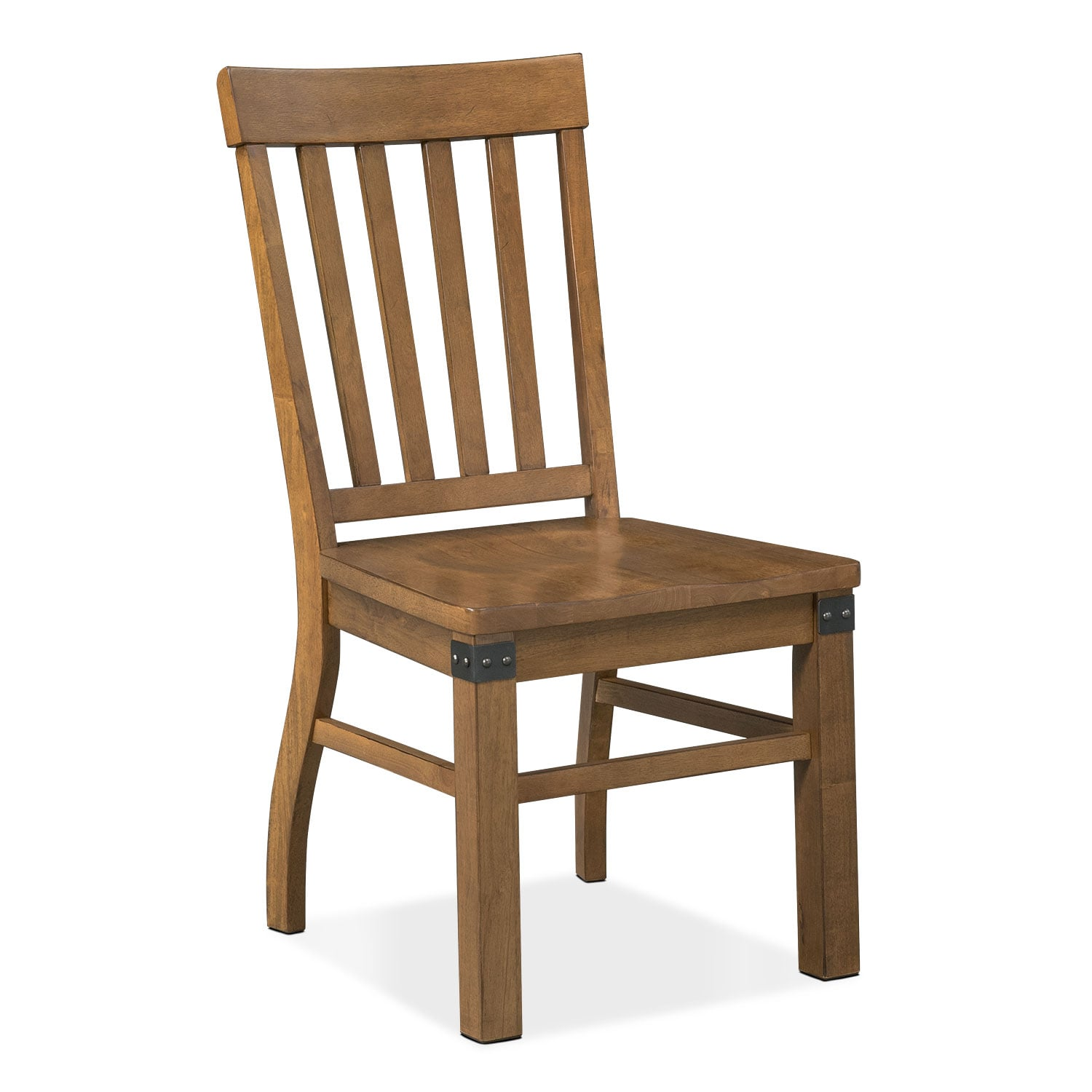 Salem Side Chair - Pecan