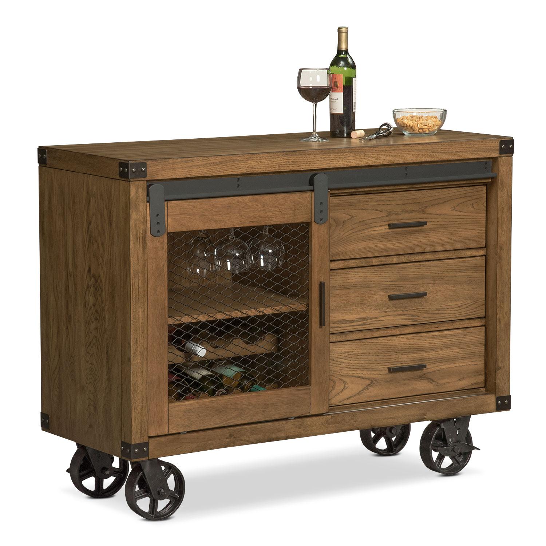 Dining Room Furniture - Salem Sideboard - Pecan