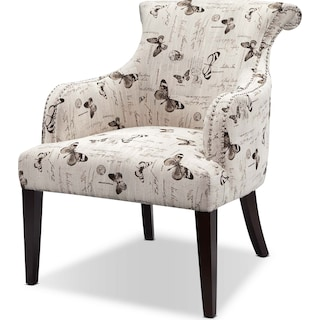 Cami Accent Chair Watercolor American Signature Furniture