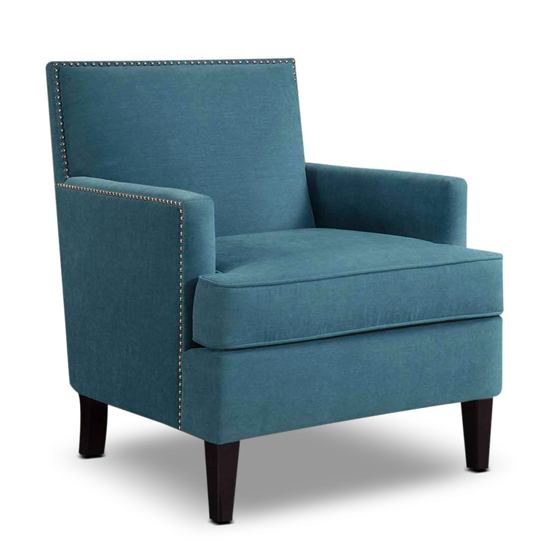 Living Room Furniture - Astrid Accent Chair - Blue
