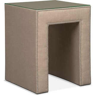 Nyla Nightstand - Natural Linen