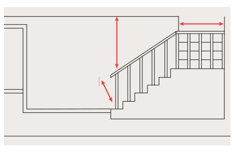 Find tips to ensure your furniture will fit up your steps