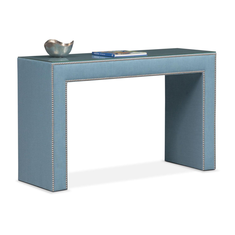 Bedroom Furniture - Nyla Vanity Desk - Teal