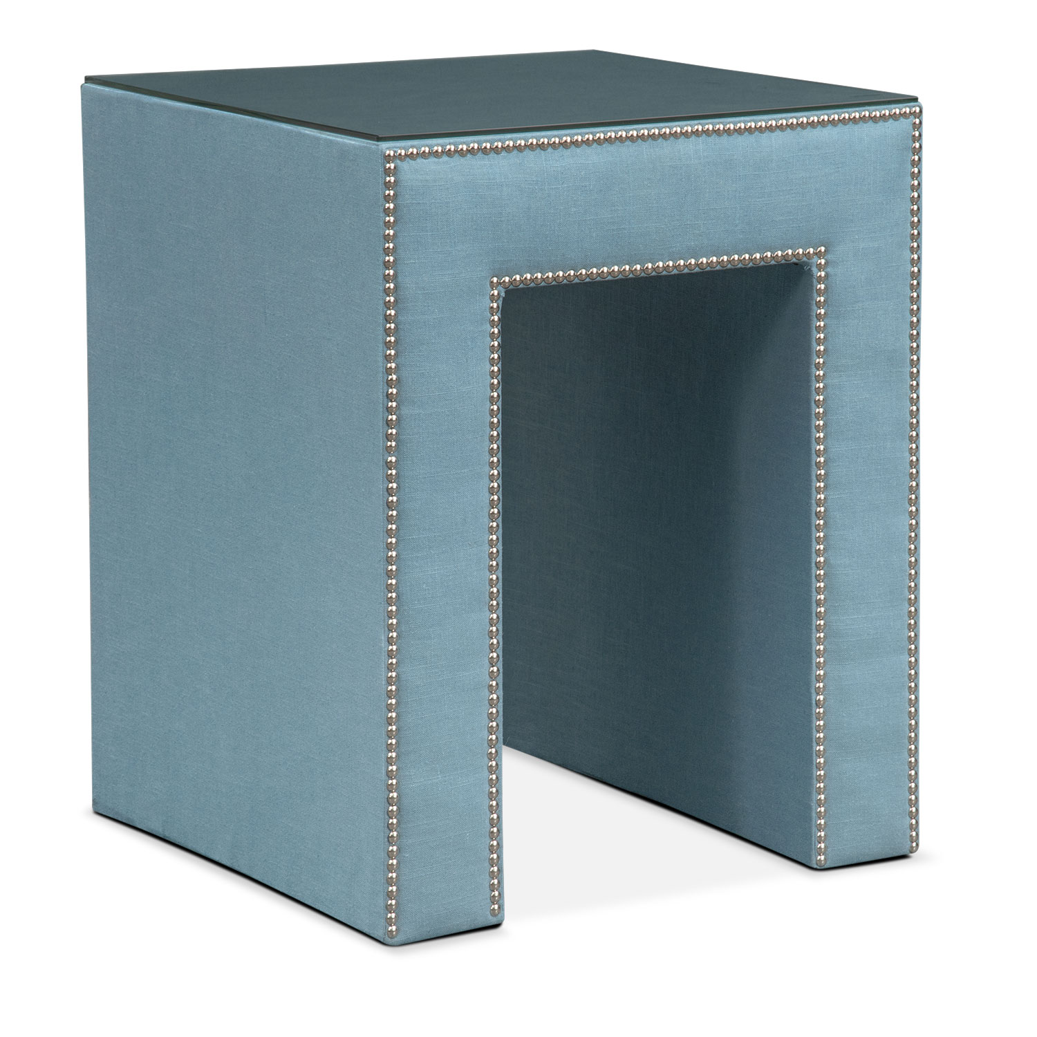 Bedroom Furniture - Nyla Nightstand - Teal
