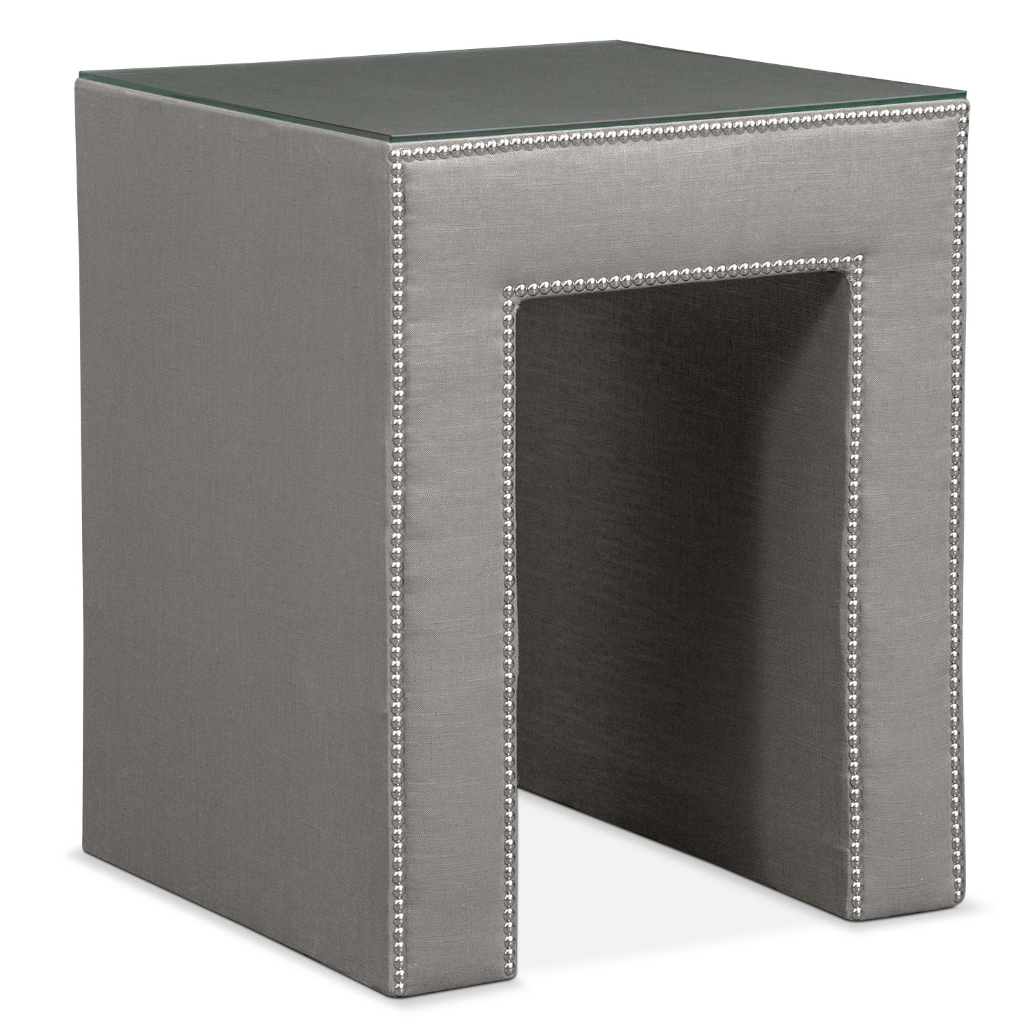 Nyla Nightstand - Granite