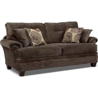 Cordelle Sofa Chocolate