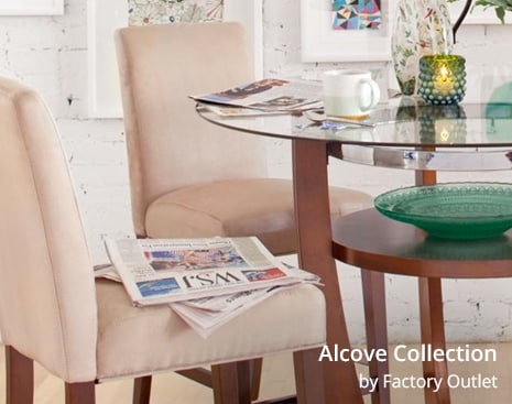 Shop the Alcove Collection by Factory Outlet
