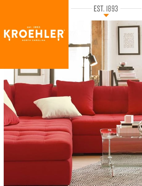 Kroehler manufactures quality furniture in the United States since 1893.