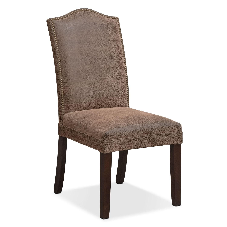 Bedroom Furniture - Nyla Vanity Chair - Brown