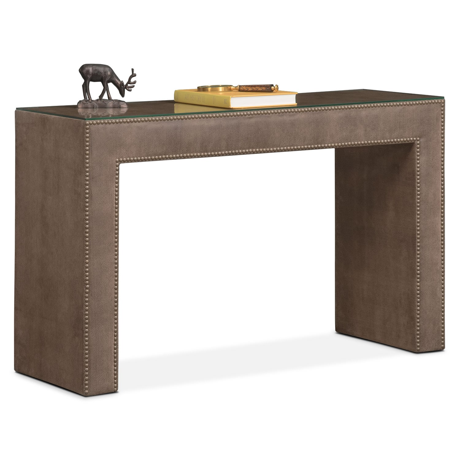 Bedroom Furniture - Nyla Vanity Desk - Brown