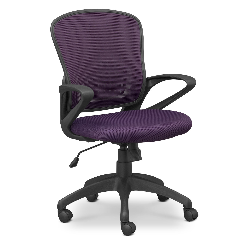 Home Office Furniture - Dexter Office Chair - Purple