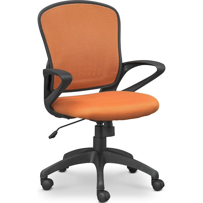 Home Office Furniture - Dexter Office Chair - Orange