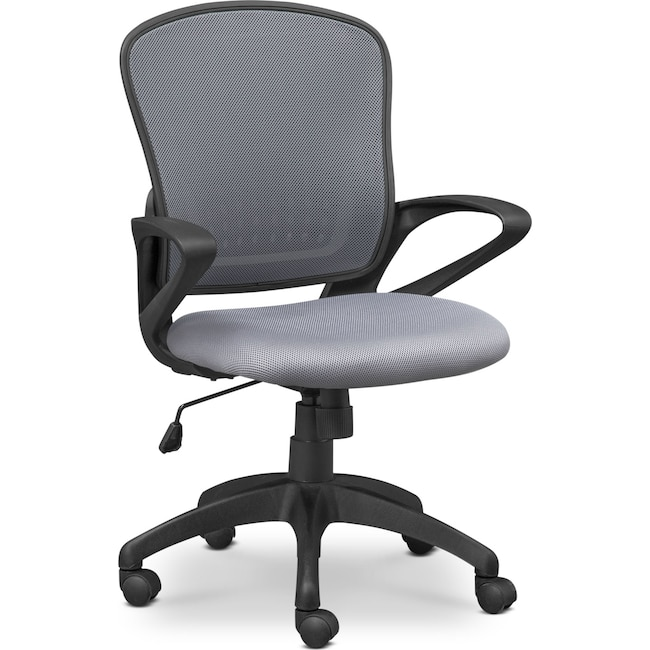 Home Office Furniture - Dexter Office Chair - Gray