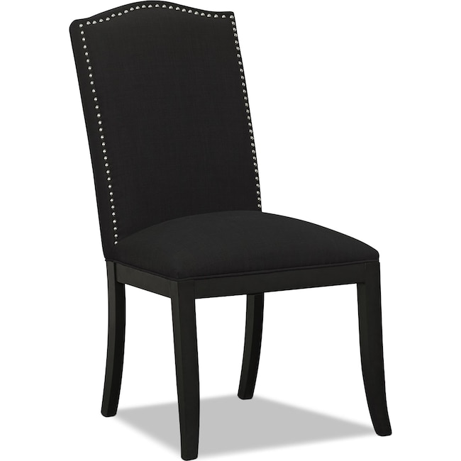 Living Room Furniture - Morris Accent Chair - Black